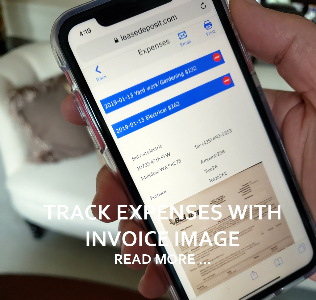 TRACK EXPENSES AND CAPTURE INVOICES Read more ...